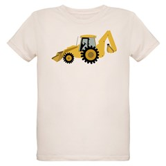 Backhoe Organic Kids T-Shirt