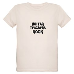 GUITAR TEACHERS ROCK Organic Kids T-Shirt