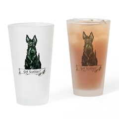 got scotties trans 10x10.png Drinking Glass