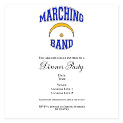 Marching Band 5.25 x 5.25 Flat Cards