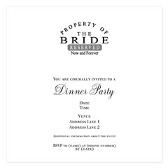 Property Bride Forever 5.25 x 5.25 Flat Cards