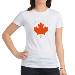 Canadian Maple Leaf Jr. Jersey T-Shirt