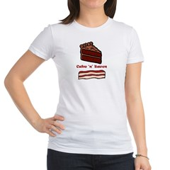 CakeNBacon.jpg Jr. Jersey T-Shirt