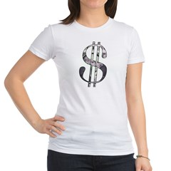 US Dollar Sign | Jr. Jersey T-Shirt