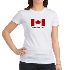 Canadian, eh? Jr. Jersey T-Shirt