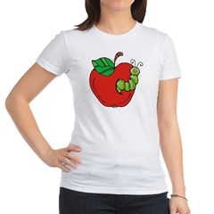Wormy Apple Jr. Jersey T-Shirt