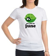 June Baby Due Date Jr. Jersey T-Shirt