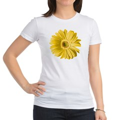 Pop Art Yellow Daisy Jr. Jersey T-Shirt
