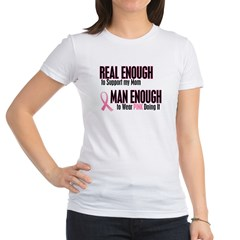 Real Enough Man Enough 1 (Mom) Jr. Jersey T-Shirt