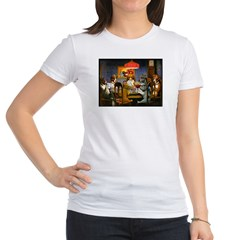 Dogs Playing RPGs! Jr. Jersey T-Shirt