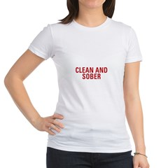 1 Year Clean &amp; Sober Jr. Jersey T-Shirt