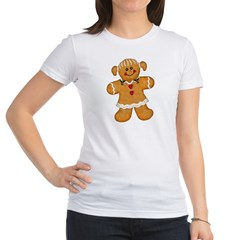 Gingerbread Woman Jr. Jersey T-Shirt