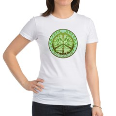 Peaceful Tree Hugger Jr. Jersey T-Shirt