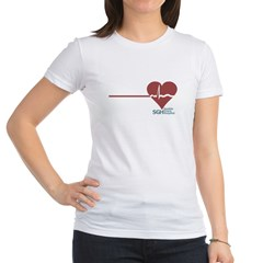 I Heart Grey's Anatomy Jr. Jersey T-Shirt
