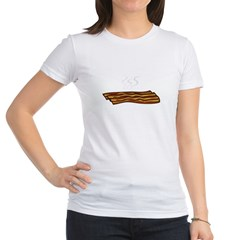 Bacon - But not Gay (dark) Jr. Jersey T-Shirt