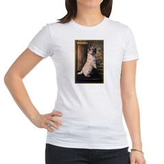 &quot;Sitting Pretty&quot; Cairn Terrier Jr. Jersey T-Shirt
