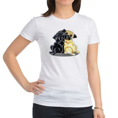 Black Fawn Pug Jr. Jersey T-Shirt