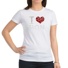 I heart Ron Paul Jr. Jersey T-Shirt