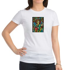 Stained Glass Queen Light Jr. Jersey T-Shirt