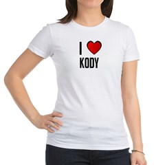 I LOVE KODY Jr. Jersey T-Shirt