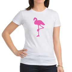 Hot Pink Flamingo Jr. Jersey T-Shirt