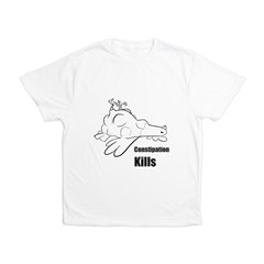 Constipation Kills! Sleeveless Chicken T-Shir Men's All Over Print T-Shirt