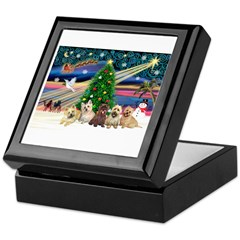 XmasMagic/5 Carins Keepsake Box