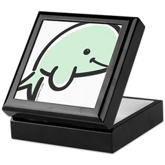 Cute Baby Beluga Keepsake Box