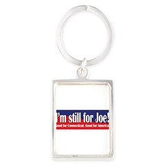 I'm still for Joe (Lieberman) Portrait Keychain