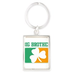 BIG BROTHER (Irish) Portrait Keychain