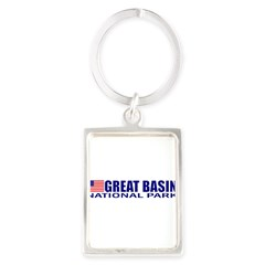 Great Basin National Park Portrait Keychain