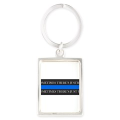 Just Us Portrait Keychain