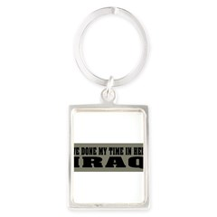 Iraq-Hell Portrait Keychain