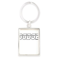 Dodge Portrait Keychain