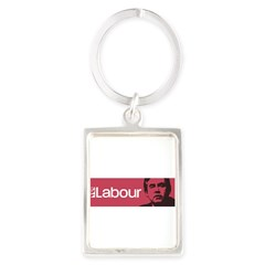 Gordon Brown Labour Party Portrait Keychain