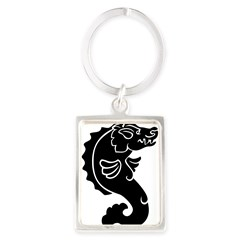 Pigfish Portrait Keychain