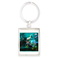Best Seller Merrow Mermaid Portrait Keychain