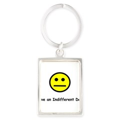 Have an Indifferent Day (Y) Portrait Keychain