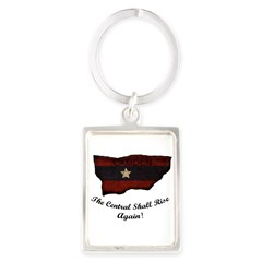 the Central Shall Rise Again Portrait Keychain