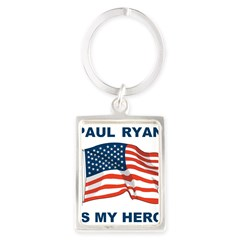 Paul Ryan is my Hero! Portrait Keychain