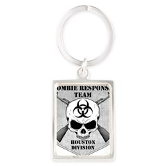 Zombie Response Team: Houston Division Portrait Keychain