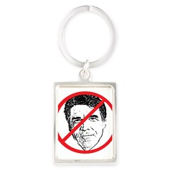 No Rick Perry! Portrait Keychain
