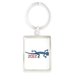 Newt 2012 Drawing Portrait Keychain