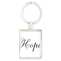 Hope Portrait Keychain