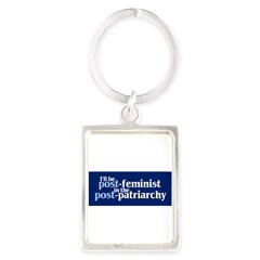 POST-FEMINIST Portrait Keychain