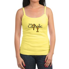 Proud to be Catholic Jr. Spaghetti Tank
