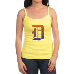 Olde English D Women's + Size Scoop Neck Dark Tee Jr. Spaghetti Tank