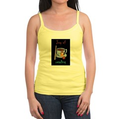 &quot;Joy of reading&quot; Jr. Spaghetti Tank