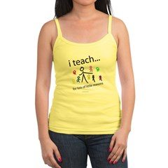 i teach ...little reasons Jr. Spaghetti Tank