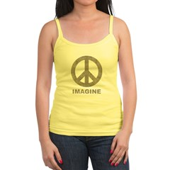 Vintage Imagine Peace Jr. Spaghetti Tank